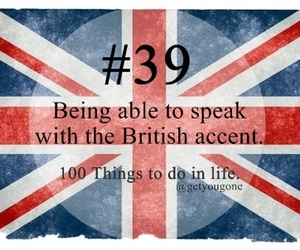 british, 100 things to do in life, and 39 image