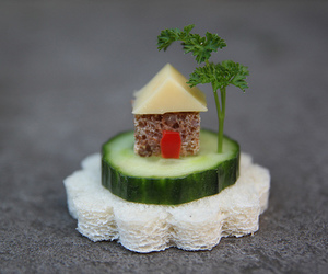 food, house, and cheese image