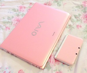 fashion, notebook, and pink image