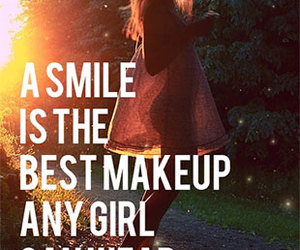 makeup, beautiful, and quote image