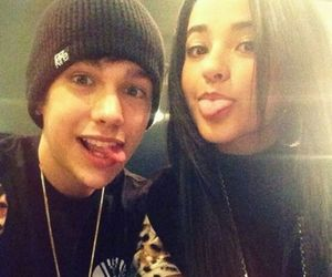 becky g, austin mahone, and Austin image