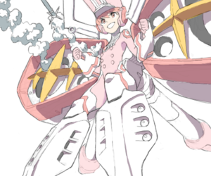 kill la kill and nonon jakuzure image