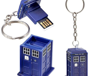 doctor who, tardis, and usb image