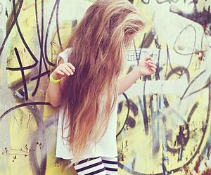 swag, long hair, and style image