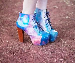 boots, cosmic, and fashion image