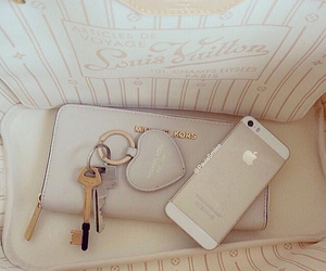 iphone, bag, and Michael Kors image