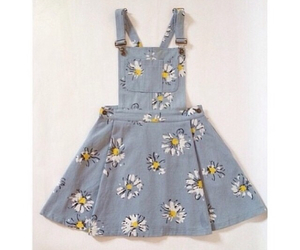 clothes, clothing, and daisy image
