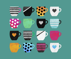 coffee, cup, and vector image