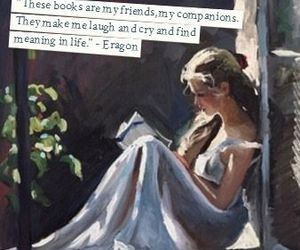 books, quotes, and reading image