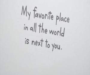 love, quote, and place image