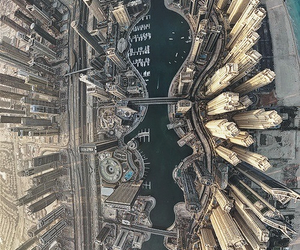 city, Dubai, and water image