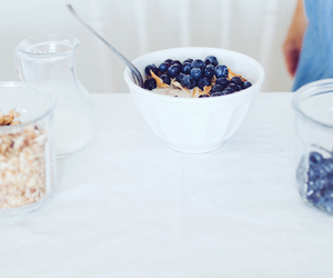 berries, breakfast, and light image