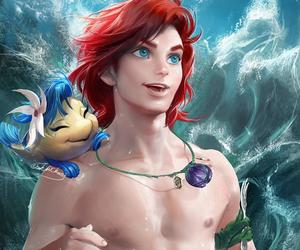 disney, movie, and the little mermaid image