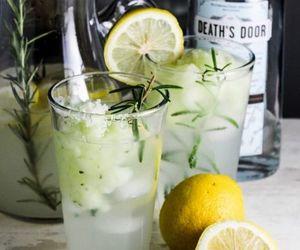 drink and lemon image