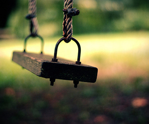 swing, photography, and alone image