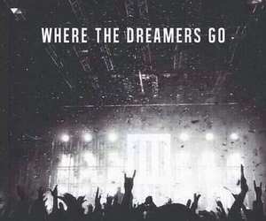 concert, dreamer, and music image