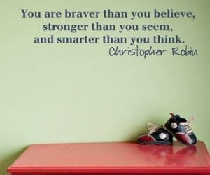 quote and brave image