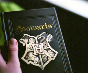book, hogwarts, and harry potter image