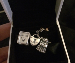 angel, book, and charms image