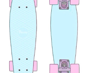 overlay, transparent, and penny board image