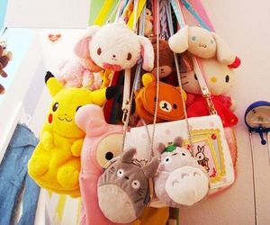bags, mamegoma, and my melody image