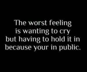 cry, public, and feeling image
