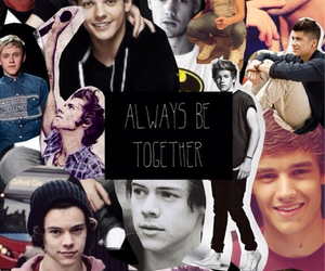 Collage, one direction, and wallpaper image