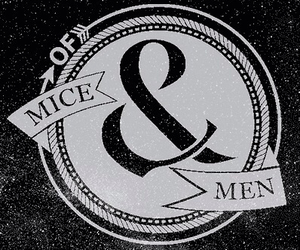 of mice and men, you're not alone, and band image