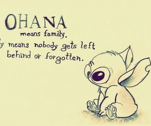 animation, disney, and stich image