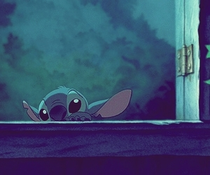 animation, stich, and cartoons image
