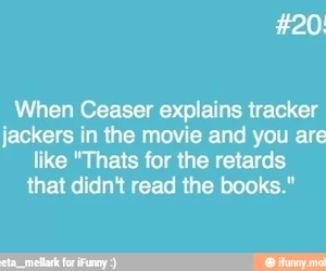 book, hunger games, and funny image