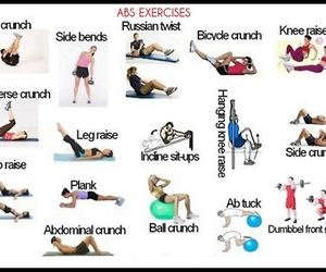 exercise, fitness, and thinspo image