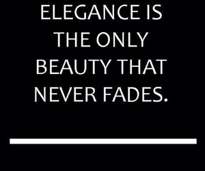 elegance, quote, and beauty image