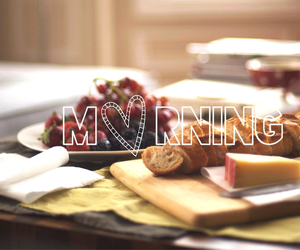 food and morning image