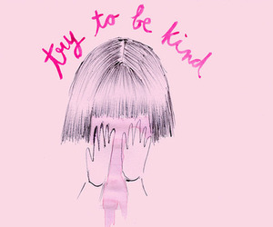 pink, quotes, and help image