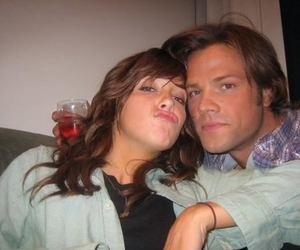 jared padalecki, katie cassidy, and supernatural image