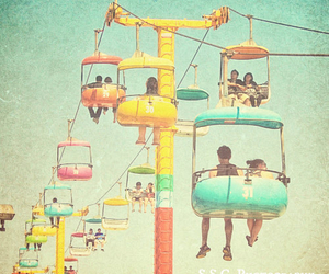 vintage, summer, and colorful image