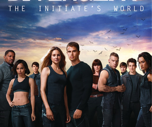 divergent, four, and movie image