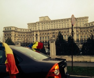 bucharest, parliament, and romania image