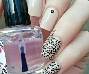 beautiful, nails, and cheetah image