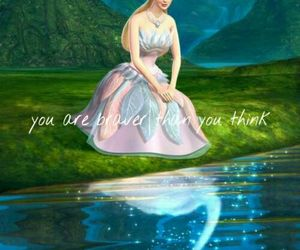 barbie, lake, and quotes image