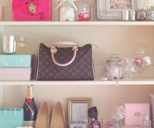 Louis Vuitton, pink, and shoes image