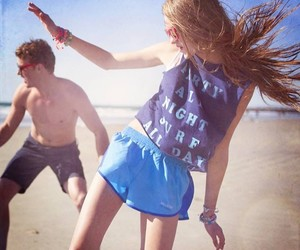 beach, fun, and hollister image