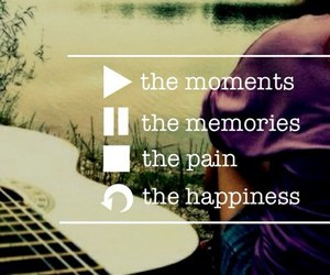 memories, moment, and music image
