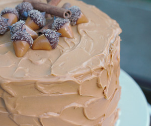 cake, spices, and dulce de leche image