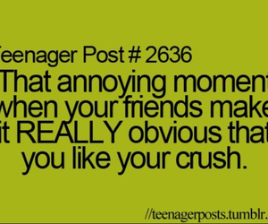 crush, friends, and teenager post image