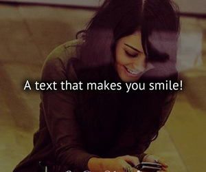 text, smile, and quote image
