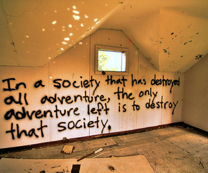 adventure, wall, and society image