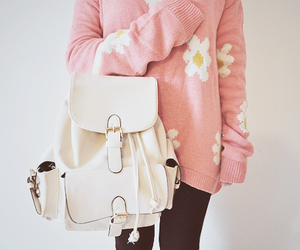adorable, backpack, and beautiful image