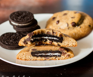 chocolate, Cookies, and oreo image